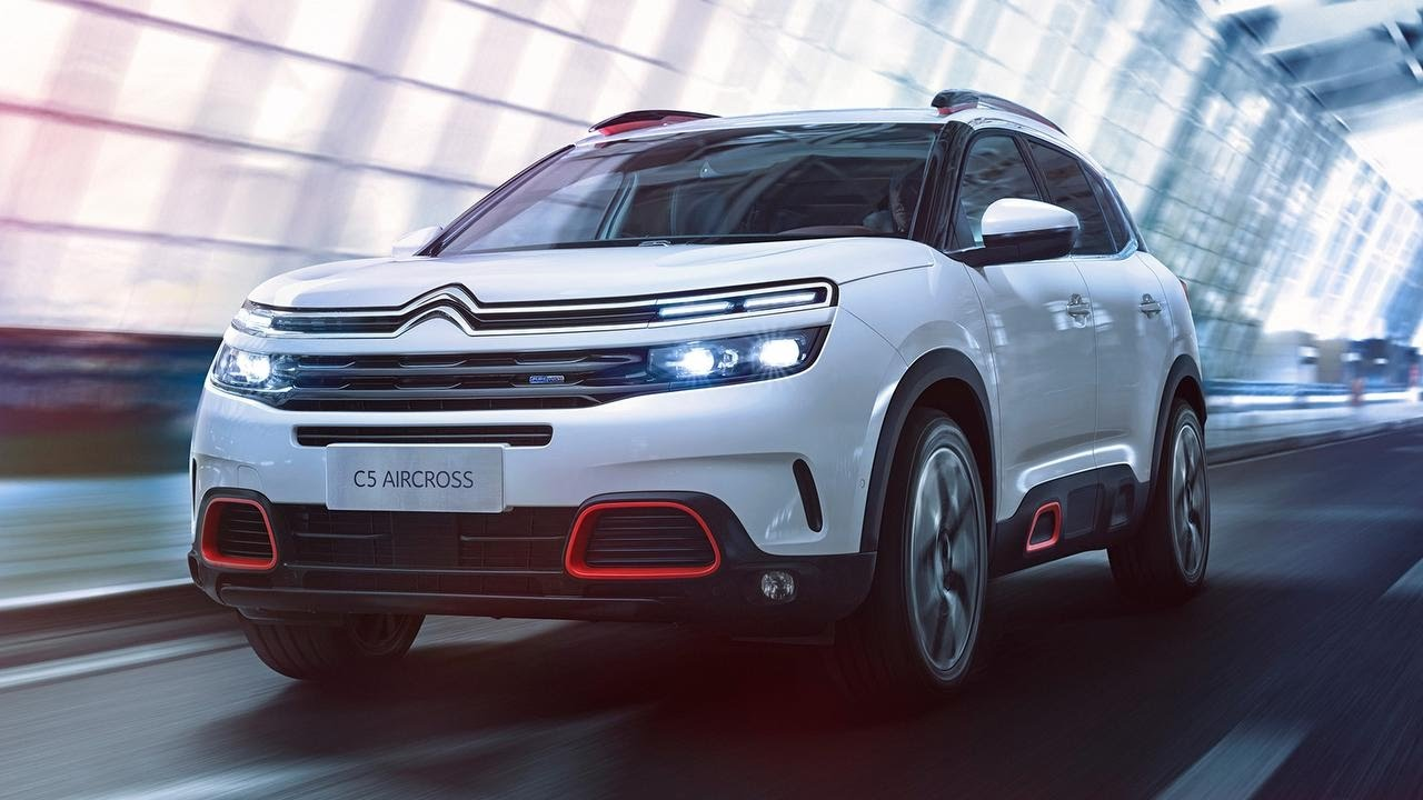 new citroen c5 aircross exclusive look review youtube. Black Bedroom Furniture Sets. Home Design Ideas