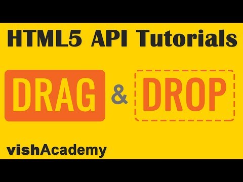 Create Draggable Elements |  HTML5 Drag And Drop API Tutorial In Hindi Part 01 | VishAcademy