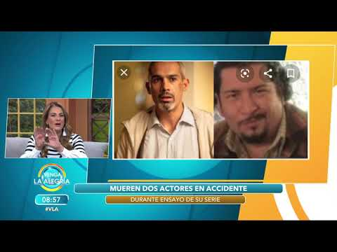 Durante Los Ensayos, Mueren Dos Actores En Terrible Accidente