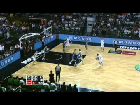 Argentina Vs. Brazil / 2011 FIBA Americas Championship Final