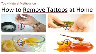 4 Top Natural Methods How to Remove Tattoos at Home