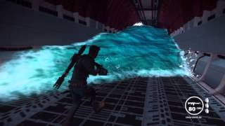 Just Cause 3 Inside a sinking cargo plane