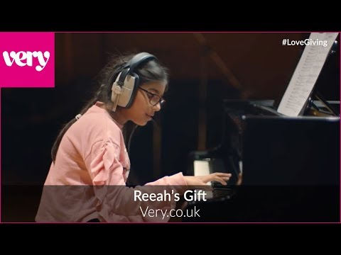 Reeah's gift: Behind the scenes of Very.co.uk's Christmas ad