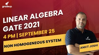 Download Lagu Linear Algebra | Engineering Mathematics for GATE 2021 | Part 5 | Gradeup mp3