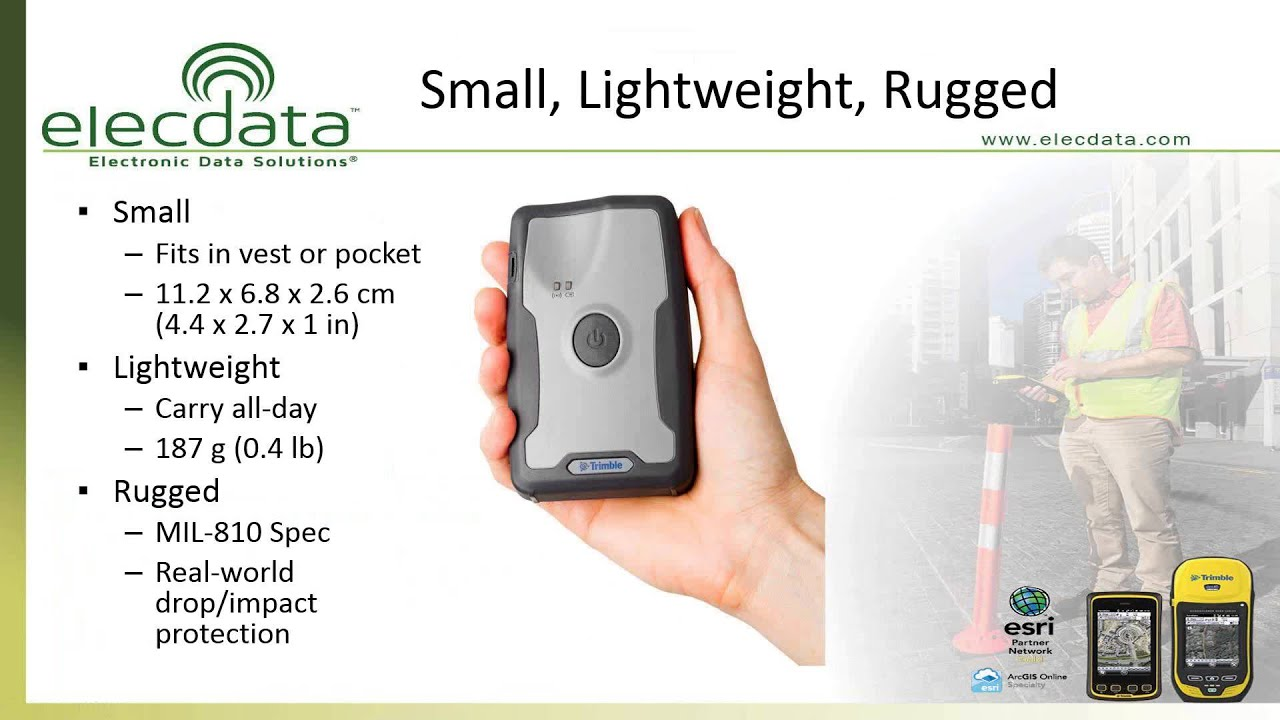 The Trimble R1 and R2 GNSS Receivers: Bringing 2-Inch GPS Accuracy to Your  Smartphone or Tablet