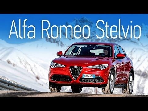Первый тест. Alfa Romeo Stelvio