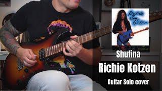 Richie Kotzen - Shufina guitar solo cover by Rod Rodrigues