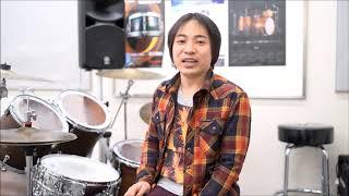 島村楽器南砂町店 ドラム講師紹介動画