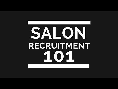 41. Salon recruitment 101