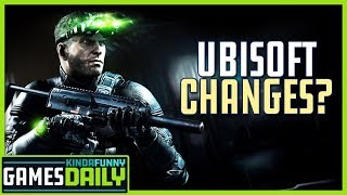 Ubisoft is Changing How They Make Their Games - Kinda Funny Games Daily 01.21.20