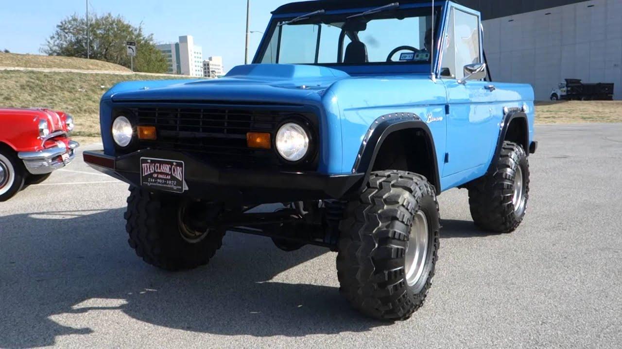 1969 Ford Bronco 4x4 Custom