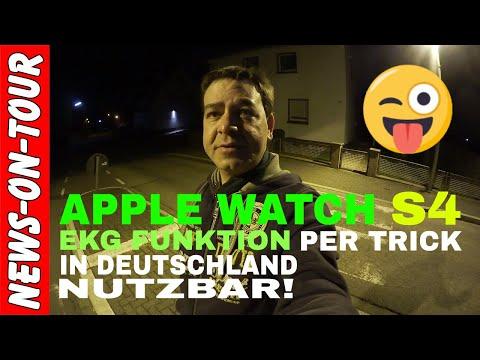 EKG Funktion der APPLE WATCH SERIES 4 in Deutschland per Trick nutzbar