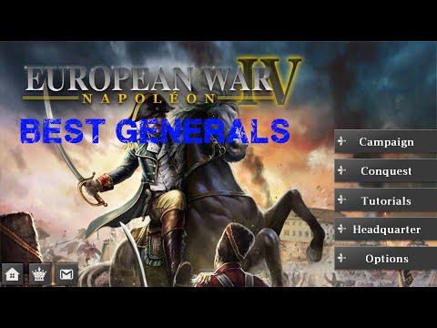 Perfect Generals in European War 4 : Napoleon