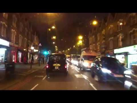 London Streets (441.) - Walthamstow - Blackhorse Road - Tottenham Hale - Seven Sister