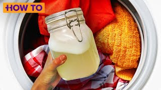 How to DIY your own laundry detergent