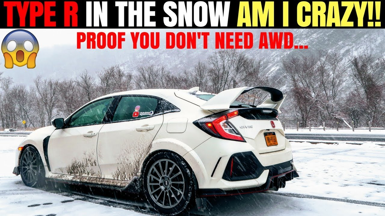 Honda Civic Hatchback >> Civic Type R Snow & Winter Review | Tips for Driving FWD Sports Car Snow | Proof you Don't Need ...