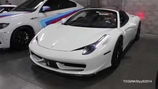 Ferrari 458 Spider w/ iPE F1 Exhaust - Revs and Acceleration