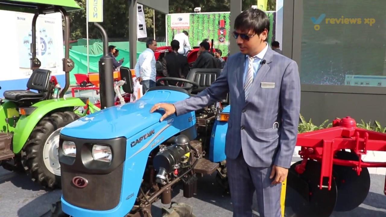 Captain 250 DI Mini Tractor Review (2X2 & 4X4) #1