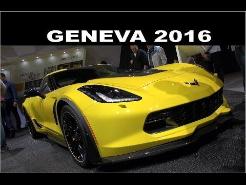 BEST OF American Cars - Geneva Motor Show 2016