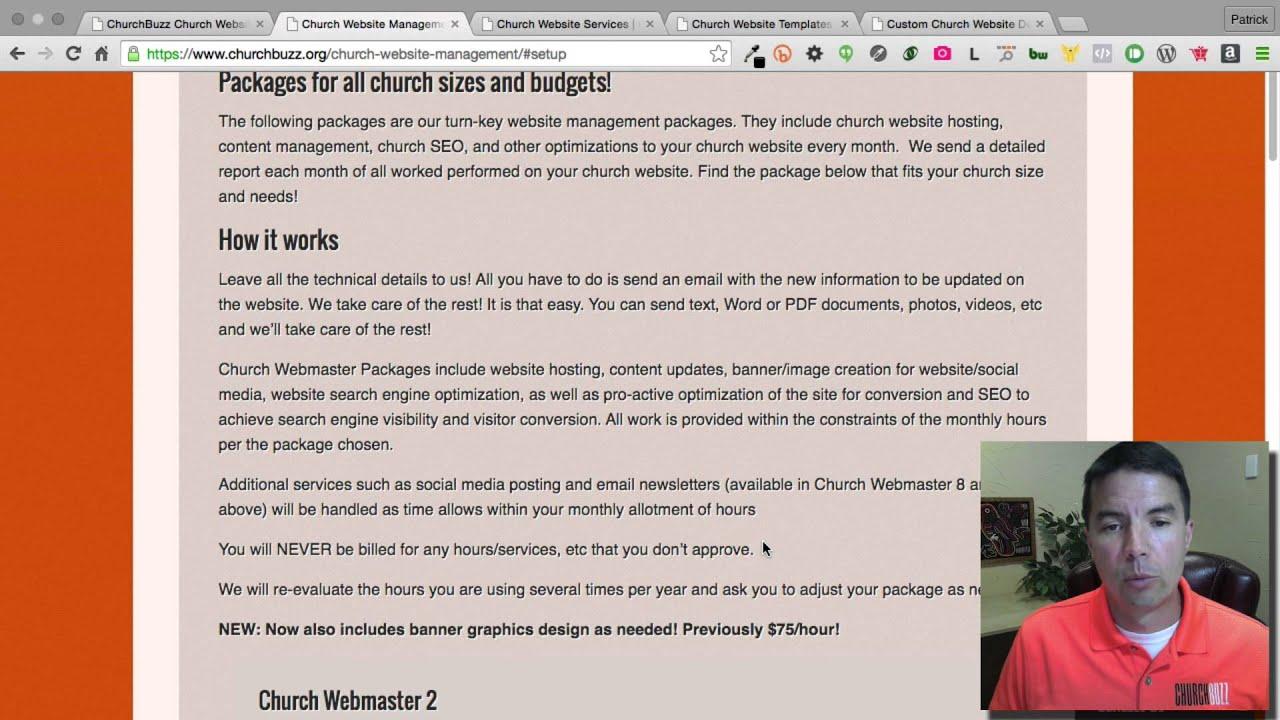 Church Website Management Churchbuzz Church Websites