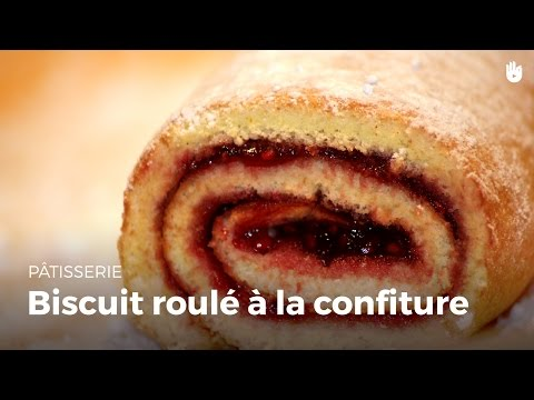 recette-facile-:-biscuit-roulé-à-la-confiture