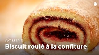 Biscuit roulé à la confiture - HD