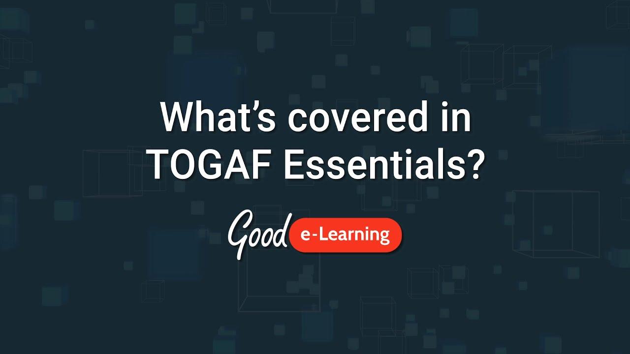 TOGAF® Essentials 2018 Training
