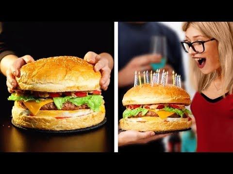 MINIATURE FOOD VS GIANT FOOD  Cool Cookings Life Hacks And Ideas