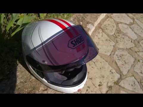 cwr-1 Transitions photochromic visor and Shoei NXR