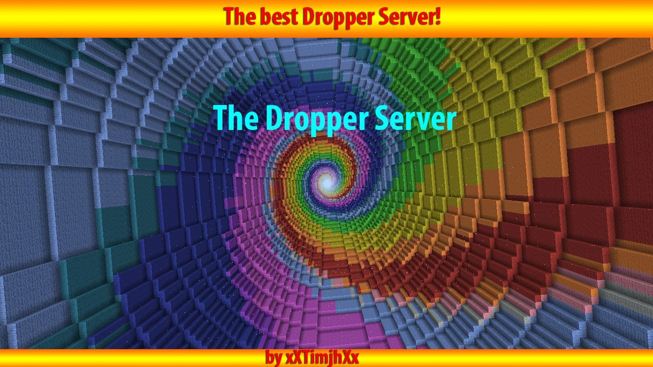 The Dropper Server Minecraft YouTube
