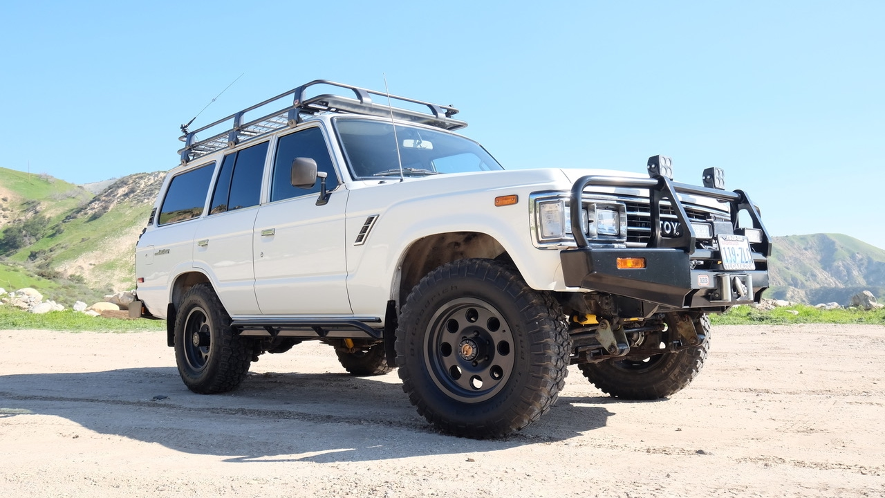 1989 restored v8 toyota land cruiser fj62 for sale at tlc youtube. Black Bedroom Furniture Sets. Home Design Ideas
