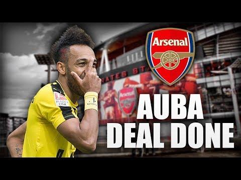 Aubameyang DEAL DONE? | Arsenal Latest Transfer News