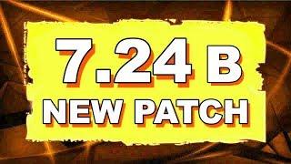 Dota 2 NEW 7.24B UPDATE - MAIN CHANGES!