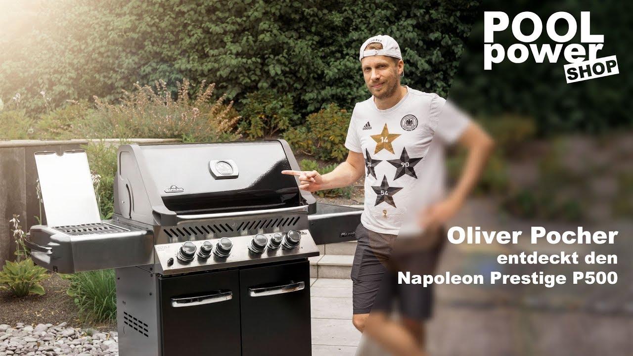 Napoleon Holzkohlegrill Test : Oliver pocher entdeckt den napoleon prestige p youtube