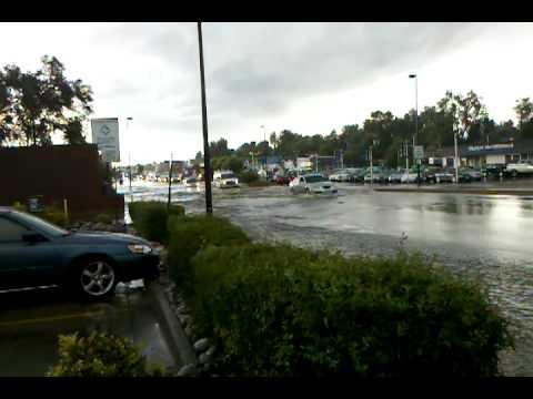 Broadway flooding Englewood, CO