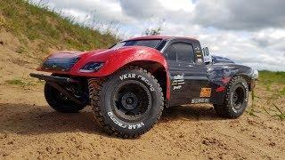 Радиоуправляемый Шорт-Корс Vkar Racing Sctx10 V2 ... На Шасси Знаменитого Бизона!