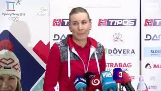 Kuzminová sa vrátila na Slovensko