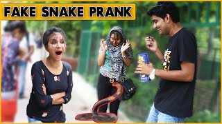 Epic Fake Snake Prank on Cute Girls - Prank In India | The HunGama Films