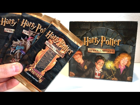 WINGARDIUM LEVIOSA! - OPENING VINTAGE HARRY POTTER CARDS BOOSTER BOX ADVENTURES AT HOGWARTS!