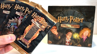 WINGARDIUM LEVIOSA! - OPENING VINTAGE HARRY POTTER CARDS BOOSTER BOX ADVENTURES AT HOGWARTS!