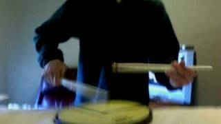 (revised) me playing 2004 Cavaliers drum book on snare!