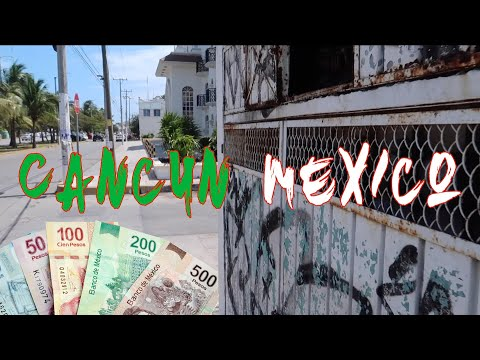 First Impression Cancun Mexico | Street Food | Money Exchange