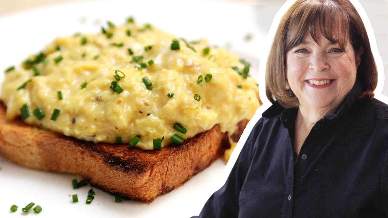 Ina Garten Makes Perfect Scrambled Eggs | Food Network