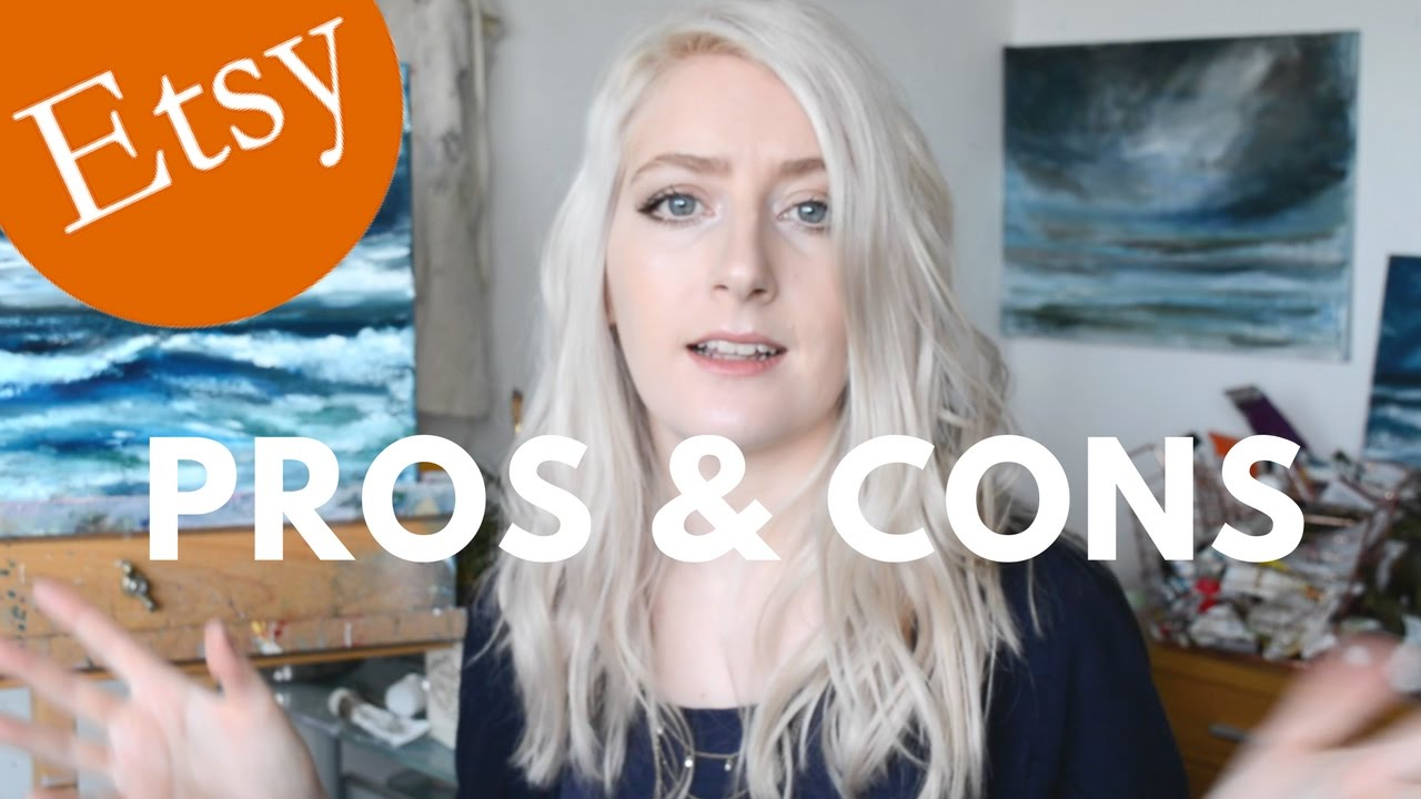 Etsy Selling Pros Cons Selling Art Katie Jobling Art Youtube