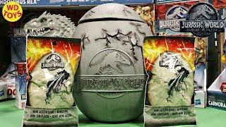 New Jurassic World Fallen Kingdom Blind Bags Unboxing Mattel  Giant Dinosaur Toys Surprise Egg