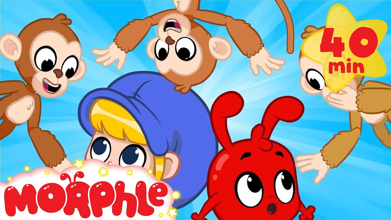Morphle and The Missing Monkey! - My Magic Pet Morphle   Cartoons For Kids   Morphle TV   BRAND NEW