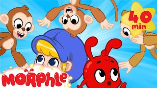 Morphle and The Missing Monkey! - My Magic Pet Morphle | Cartoons For Kids | Morphle TV | BRAND NEW