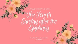 The Fourth Sunday after the Epiphany