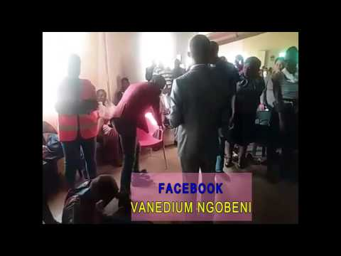 Prophet Vanedium Ngobeni Deliverance time in House of Miracles Prophetic Church