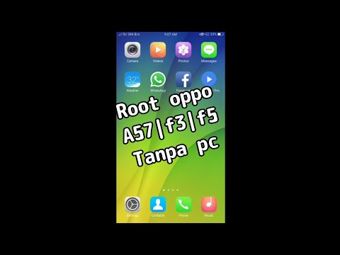 ROOT OPPO A37, A57, F3, F5 no PC